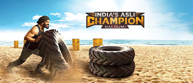 India's Asli Champion... Hai Dum!