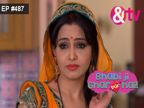 Bhabi Ji Ghar Par Hain - Episode 487 - January 9, 2017 - Full Episode