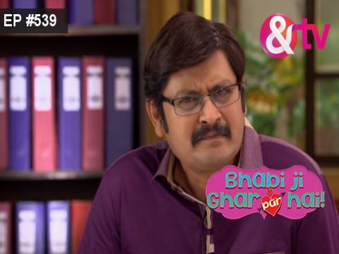 Bhabi Ji Ghar Par Hain - Episode 539 - March 22, 2017 - Full Episode