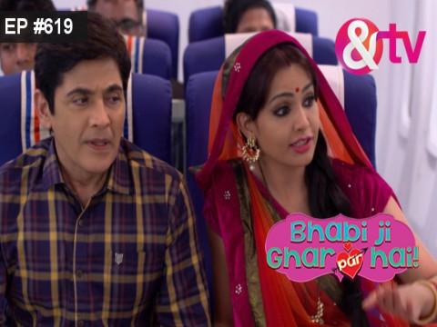 Bhabi Ji Ghar Par Hain - Episode 619 - July 12, 2017 - Full Episode
