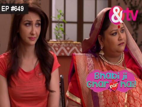 Bhabi Ji Ghar Par Hain - Episode 649 - August 23, 2017 - Full Episode