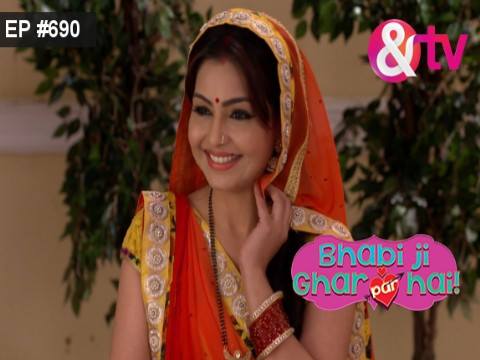 Bhabi Ji Ghar Par Hain - Episode 690 - October 19, 2017 - Full Episode