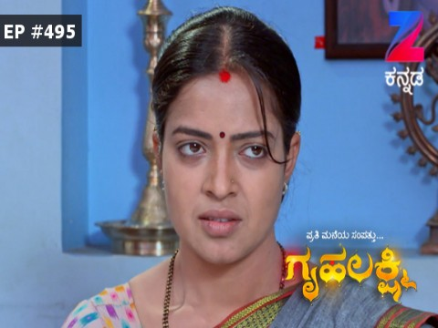 Gruhalakshmi - Episode 495 - January 9, 2017 - Full Episode