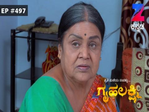 Gruhalakshmi - Episode 497 - January 11, 2017 - Full Episode