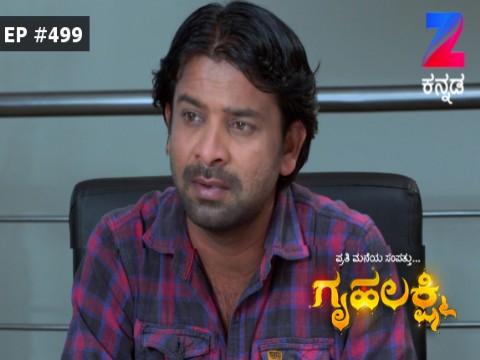 Gruhalakshmi - Episode 499 - January 13, 2017 - Full Episode
