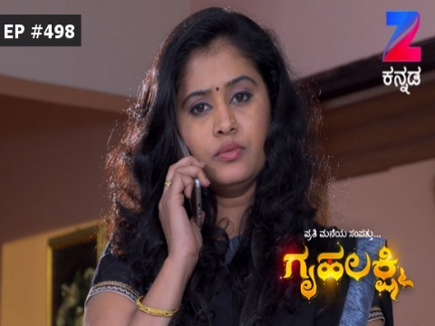 Gruhalakshmi - Episode 498 - January 12, 2017 - Full Episode