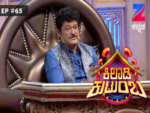 Khiladi Kutumba Ep 65 8th September 2017