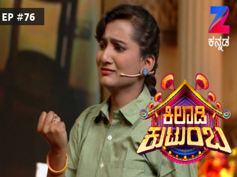 Khiladi Kutumba Ep 76 25th September 2017
