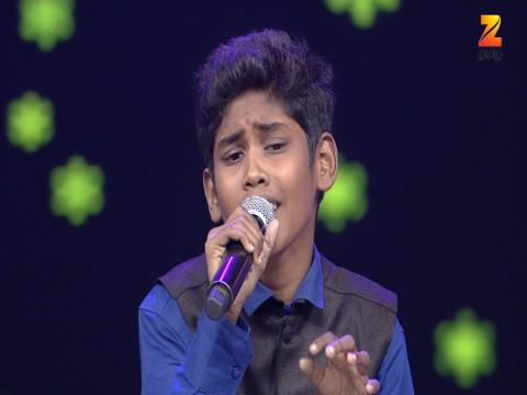 Sa Re Ga Ma Pa Lil Champs - Tamil Ep 4 1st January 2017