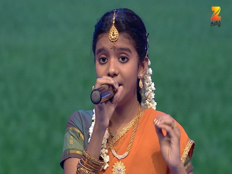 Sa Re Ga Ma Pa Lil Champs - Tamil Ep 23 11th March 2017
