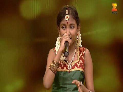 Sa Re Ga Ma Pa Lil Champs - Tamil Ep 24 12th March 2017