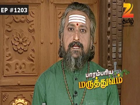 Paarambariya Maruthuvam - Episode 1203 - October 22, 2016 - Full Episode