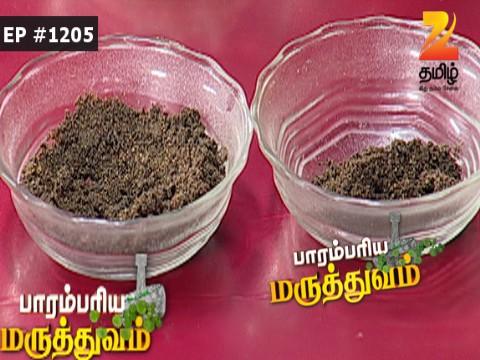 Paarambariya Maruthuvam - Episode 1205 - October 24, 2016 - Full Episode