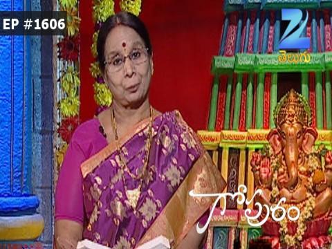 Gopuram - Episode 1606 - August 22, 2016 - Full Episode