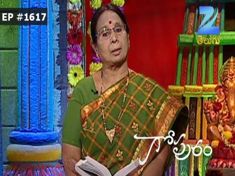 Gopuram - Episode 1617 - September 14, 2016 - Full Episode