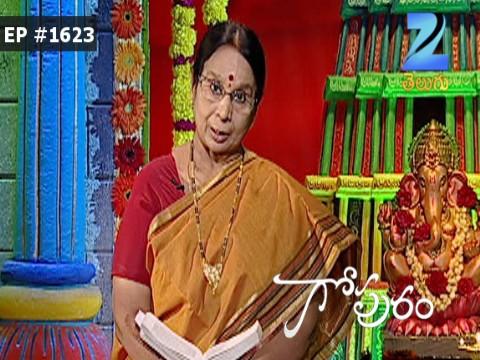 Gopuram - Episode 1623 - September 28, 2016 - Full Episode