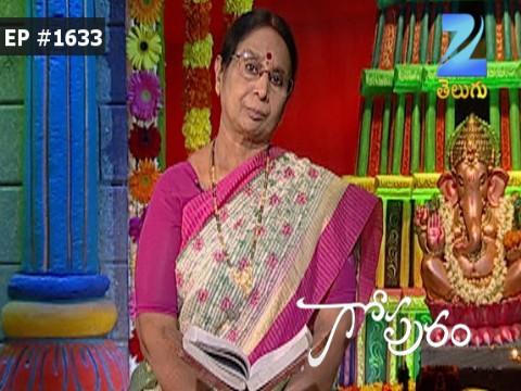 Gopuram - Episode 1633 - October 24, 2016 - Full Episode