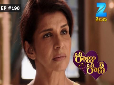 Oka Raju Oka Rani - Episode 190 - March 16, 2017 - Full Episode