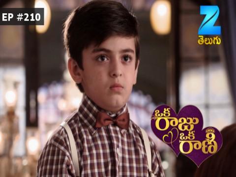 Oka Raju Oka Rani - Episode 210 - April 24, 2017 - Full Episode