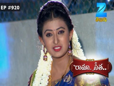 Rama Seetha - Episode 920 - August 10, 2017 - Full Episode