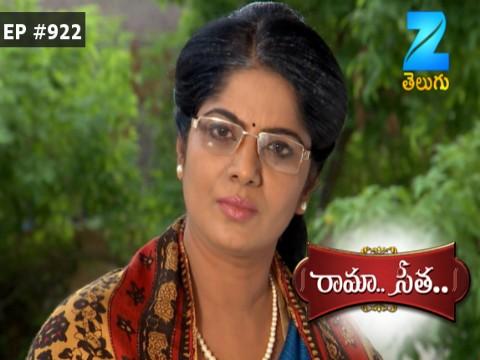 Rama Seetha - Episode 922 - August 12, 2017 - Full Episode