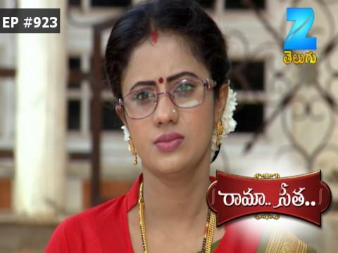 Rama Seetha - Episode 923 - August 14, 2017 - Full Episode