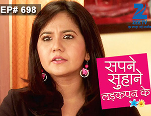 Sapne Suhane Ladakpan Ke - Episode 698 - January 12, 2015
