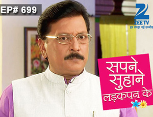Sapne Suhane Ladakpan Ke - Episode 699 - January 13, 2015