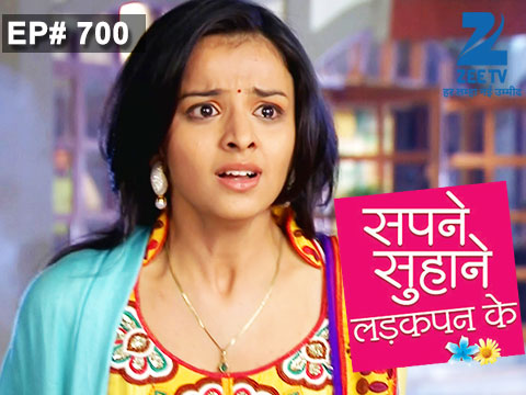 Sapne Suhane Ladakpan Ke Ep 700 14th January 2015