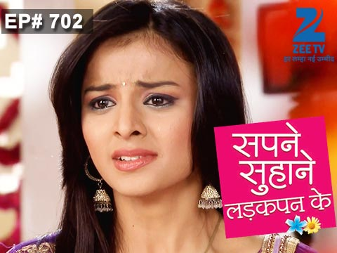 Sapne Suhane Ladakpan Ke Ep 702 16th January 2015