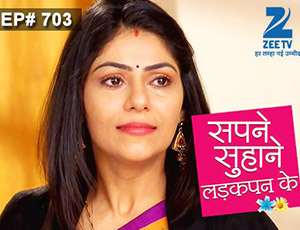 Sapne Suhane Ladakpan Ke - Episode 703 - January 19, 2015