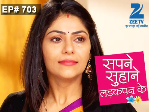 Sapne Suhane Ladakpan Ke Ep 703 19th January 2015