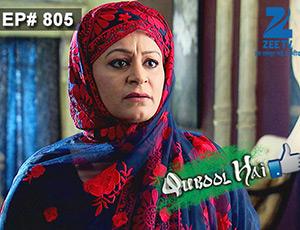 Qubool Hai - Episode 805 - Full Episode
