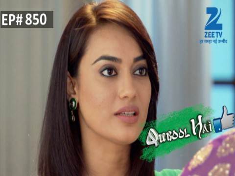 Qubool Hai - Episode 850 - January 16, 2016 - Full Episode