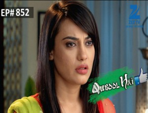 Qubool Hai Ep 852 19th January 2016