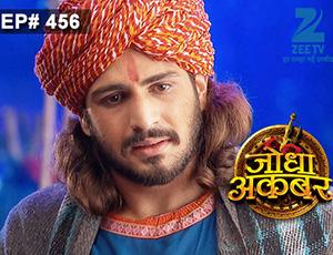 Jodha Akbar - Episode 456 - March 6, 2015 - Full Episode