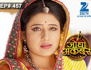 Jodha Akbar - Episode 457 - March 9, 2015 - Full Episode