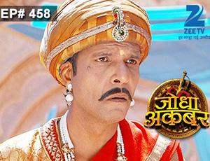 Jodha Akbar - Episode 458 - March 10, 2015 - Full Episode