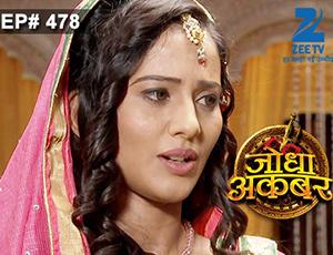 Jodha Akbar - Episode 478 - April 7, 2015 - Full Episode