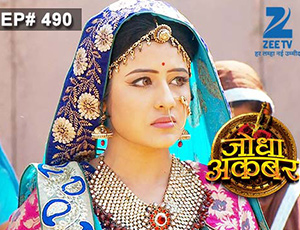 Jodha Akbar - Episode 490 - April 23, 2015 - Full Episode