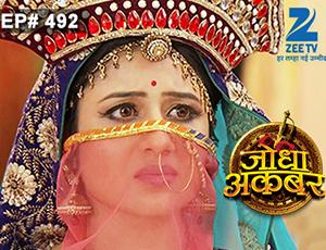 Jodha Akbar - Episode 492 - April 27, 2015 - Full Episode