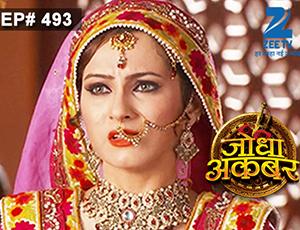 Jodha Akbar - Episode 493 - April 28, 2015 - Full Episode