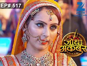 Jodha Akbar - Episode 517 - June 1, 2015 - Full Episode