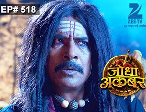 Jodha Akbar - Episode 518 - June 2, 2015 - Full Episode