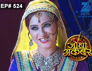 Jodha Akbar - Episode 524 - June 10, 2015 - Full Episode