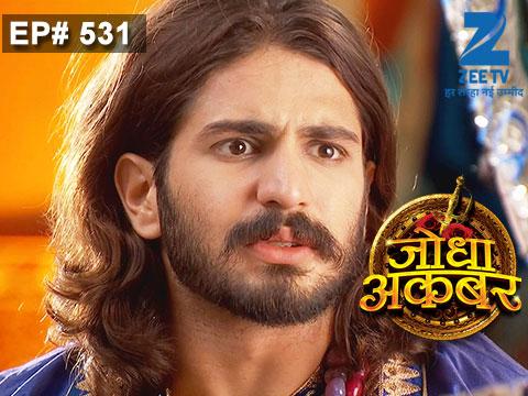 Jodha Akbar - Episode 531 - June 19, 2015 - Full Episode