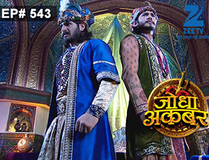 Jodha Akbar - Episode 543 - July 7, 2015 - Full Episode