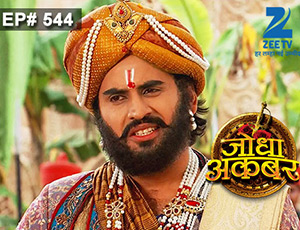 Jodha Akbar - Episode 544 - July 8, 2015 - Full Episode