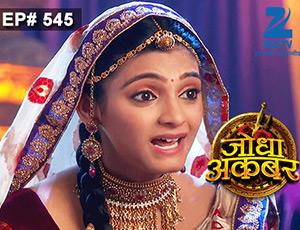 Jodha Akbar - Episode 545 - July 9, 2015 - Full Episode