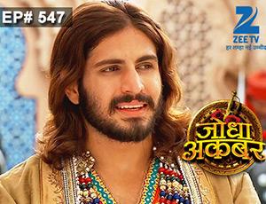 Jodha Akbar - Episode 547 - July 13, 2015 - Full Episode
